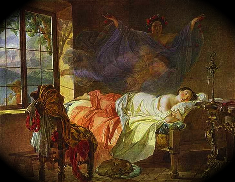 briullov__karl_-_a_dream_of_a_girl_before_a_sunrise