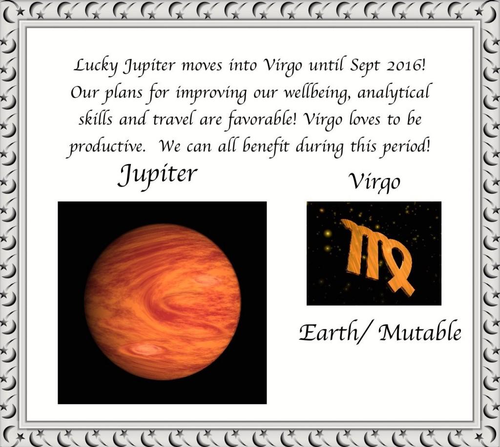 Lucky Jupiter moves